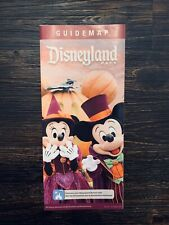 Disneyland Theme Park Mickey and Minnie Mouse Collectible Fall Guide Map 2019