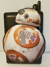 Bb-8 Star Wars Single Light Switch Plate Cover Never Used Metal Home Decor