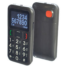 GOSO Big Button Senior Cell-Phone Unlocked Dual-Sim GSM Quad w/ SOS for Elderly