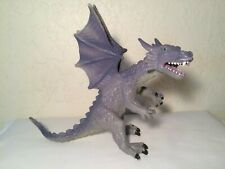 """Dragon with Wings figure Hard plastic 8.5"""" Purple Great detail"""