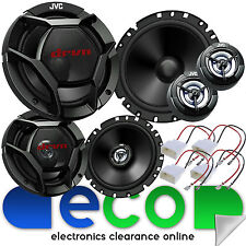 Ford Focus MK2 RS ST 1320 Watts 3 Door Front & Rear Car Speaker Full Upgrade Kit
