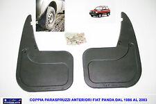 Coppia Paraspruzzi anteriori Fiat Panda 750 dal 1986>2003 Panda Classic