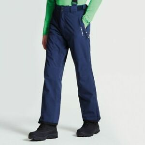 Mens REG LEG OUTERSPACE BLUE Dare2b CERTIFY II Stretch Ski Salopettes Pants