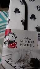 Disney Drying Mat Minnie Mouse 16 X 18 100% Polyester Black White 🇺ð 00006000 Ÿ‡¸