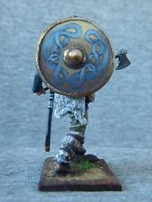 SALE!!! Elite tin soldiers St. Petersburg: Viking ornaments on the shield 54 mm.