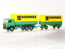 Herpa Man Camión Tren de Carretera Schenker 1:87 / H0