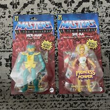 MOTU Origins WAVE 3 SHE-RA MER-MAN  Masters Of The Universe SET *IN HAND*