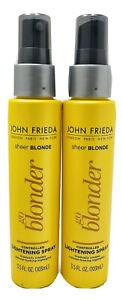 2 John Frieda Sheer Blonde Lightening Spray Go Blonder - 3.5 fl oz
