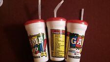 2013 GAME ON Del Mar San Diego County Fair 3 CUSTOM 32oz GLASSES