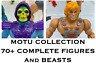 Vintage Masters of the Universe, MOTU, He-man Lot: HUGE Near Complete Collection
