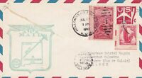 U.S. Airmail 1st Flight Slogan 1963 Air Force Base Cancel Stamps Cover Ref 44616
