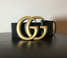 Gucci Wide Leather Belt Size 90:36