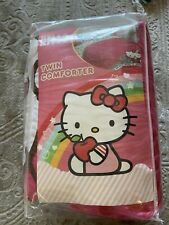 Hello Kitty Super Soft Microfiber Twin Comforter New!