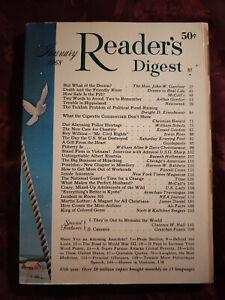 Readers Digest January 1968 Albert Einstein Banesh Hoffmann Frank N. D. Buchman