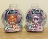 Glimmies Polaris Dolls x 2 Renny and Beelenia New In Sealed Box