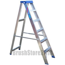 Clow 6 Tread Aluminium Industrial Stepladder to 175kg BS 2037 Class 1. ABS6
