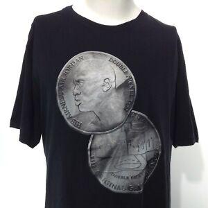 MICHAEL JORDAN Double Nickel 1995 Black Short Sleeve Graphic T-Shirt Size 3XL