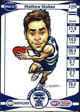 2014 Teamcoach Geelong Magic Wildcard Mathew Stokes Cats Team Coach Wild Card