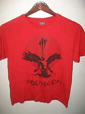 Ademption Indie Rock And & Roll Band Dublin Virgin USA Goth Concert T Shirt Sm