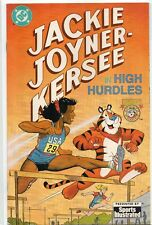 JACKIE JOYNER-KERSEE High Hurdles RARE DC Sports Illustrated VARIANT 1992