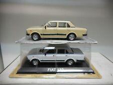 FIAT 132 CREAM WHITE POLONIA CARS BALKANS DeAGOSTINI 1:43