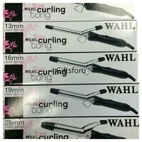WAHL Steel Barrel Hair Styling Professional Curling Tong ALL SIZES AVAILABLE