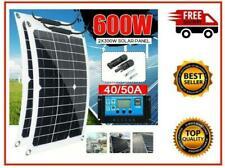 300w 600 Watt Portable Mono-crystalline Solar Panel 18v Rv Car Battery Charger