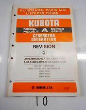 heavy equipment manuals books for kubota generator for sale ebay rh ebay com Kubota Diesel Generator Parts Super Quiet Diesel Generators Portable