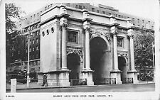 BR94086 marble arch from hyde park london real photo   uk