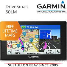 GARMIN DRIVESMART 50lm │ 5'' GPS Satnav │ MAPAS GRATIS DE POR VIDA