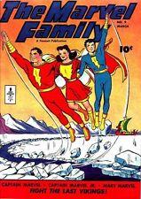 Marvel Family #9 Photocopy Comic Book, Captain Marvel, Mary Marvel