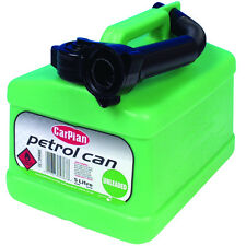 CarPlan Unleaded Petrol Fuel Jerry Can Tetracan Garage Workshop Spout 5 Litre
