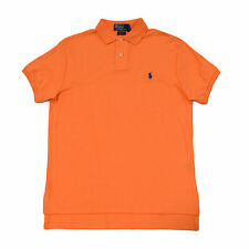 Polo Ralph Lauren Custom Fit Polo Shirt Interlock Mens Pony Logo S M L Xl Xxl
