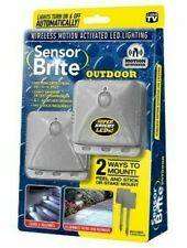 Sensor Brite Outdoor LED Lighting Wireless/Motion Activated On&Off Automatically