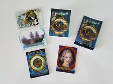 THE GOLDEN COMPASS Complete 72 Card Set + ALL 4 CHASE Sets + Wrapper Inkworks