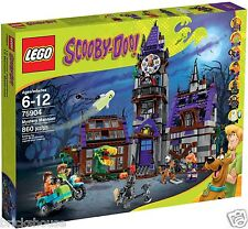 New Sealed Lego Scooby Doo 75904 Mystery Mansion (Bricks House) - creased box