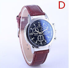 Premium Watch Luxury Brand Quartz Leather