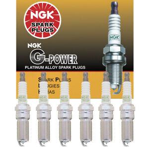 NGK G-Power Platinum Alloy Spark Plugs LTR5GP 5019 Set of 6