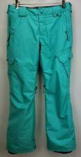 Burton DryRide Girls Insulated Snowboard Ski Pants Sz Large 14 16 Turquoise Blue