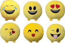 Soft 15cm Plush Emoticon Emoji Pillows Round Smiley Face Cushion Home Decor
