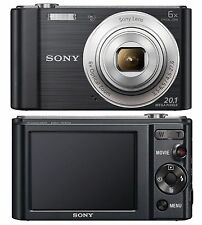 Sony Cyber-shot DSC-W810 de 20.1 MP Digital Cámara Zoom óptico 6X-Negro