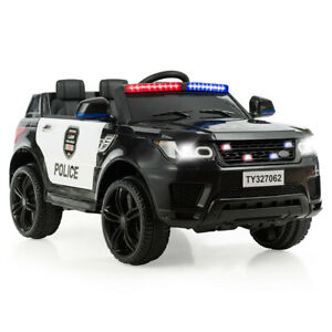 12V Electric Ride On Car Kids Ride on Toy Cars w/ Remote Control Bluetooth Black