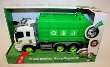 Spielzeug-LKW Müllauto Container in  grün  von Gearbox
