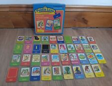 Puddle Lane Picture Word Cards Stage 1. Vintage Puzzle Learning. Rare.Incomplete