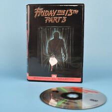 Friday The 13th Part 3 DVD - Bilingual