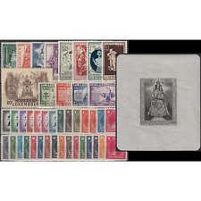 Luxemburg 1945 postfrisch ** Nr. 343-398 Block 4 (ohne Nr. 370-381)