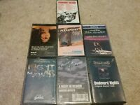 Soundtrack Cassette Collection 7 Ultra-Rare Titles - Hard To Find !