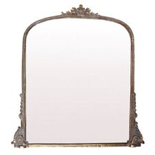 Iron Frame Decorative Mirrors with Wall-Mounted