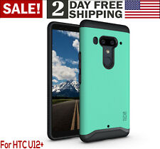 HTC U12 Plus Case Heavy Duty Protection Shock-Proof Dual Layer Slim Cover Mint