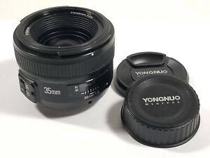 FX Lens * Nikon F * YONGNUO YN 35mm F2 Lens Wide-angle AF/MF F2N